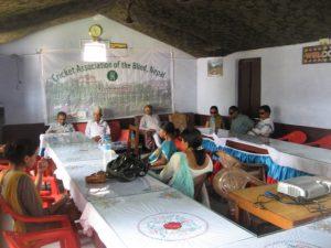Confrence at Dhangadi