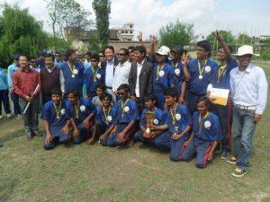 Group Photo withWinning team Lumbini