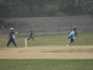 Kaski's Bhagwati Bhattrai Running for B1 Player Jewan Tamang