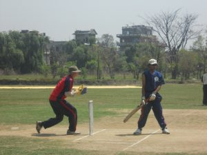 Keeper Kaushal Raymajhi Calling For Bowler