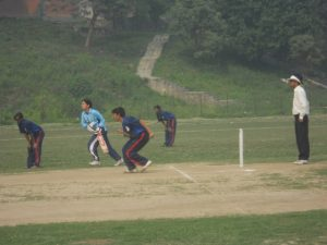 Lumbini B2 Player Ram Prasad Poudel On Bowl