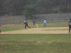 Lumbini Keeper Shankar Regmi Chasing Ball