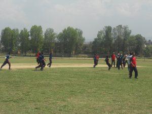 Lumbini Team enjoying the Final Match Victory
