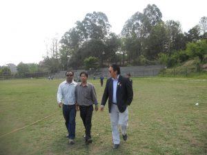 Member secretary Mr. Yuva raj Lama and Cab Nepal Pawan Ghimire