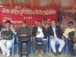 Member secretary Mr. Yuva raj Lama, NFDN cahirman and NAWB, Chairman