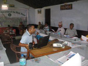 Sugam Bhattarai on Paper Presentation At Dhangadi