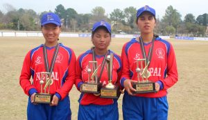Best player of Nepal team: Binita, Mankeshi and Muna