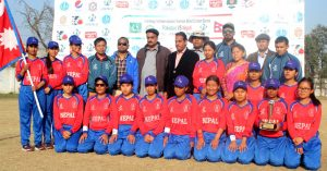 Nepal team group photo