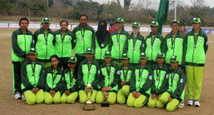 Pakistani Blind Cricket team group photo