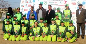 Pakistani Blind Cricket team group photo