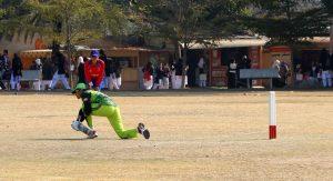 Rabia Shehazadi of Pakistani team batting