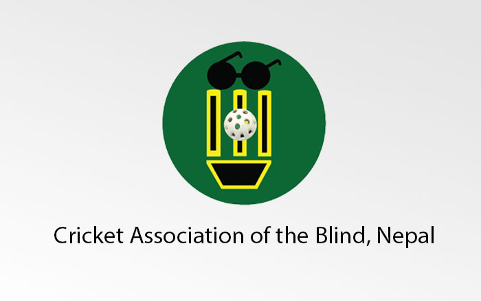Logo of Cricket Association of the Blind